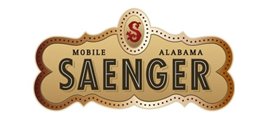 Mobile Saenger Theater logo